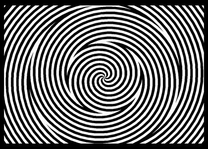 Stare at the center for a while then look away. wooo funky shit
