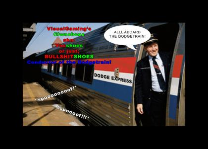 Clwnshoes - Conductor of the DODGETRAIN!