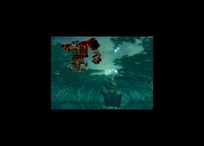 The New Metal Gear...Optimus?!