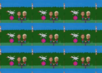 Homer Doesnt Trust Bush&Cheney (Refresh)