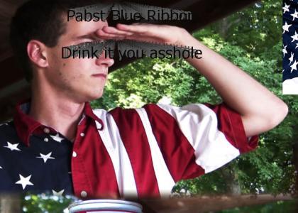 Help save America, Drink PBR