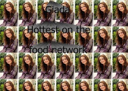 Giada de Laurentiis - hottest girl on the food network (now with sound)