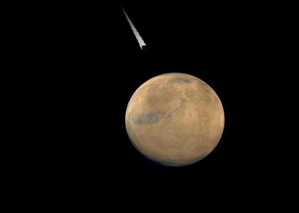 Holy Crap, Mars Meteor!