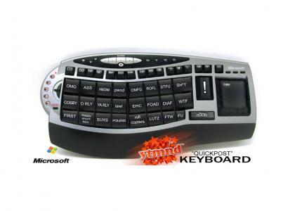 Microsoft's YTMND Keyboard