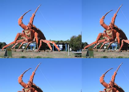 It's not a Giant enemy crab, It's a...