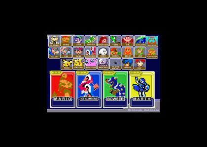 More Retro Smash Brothers