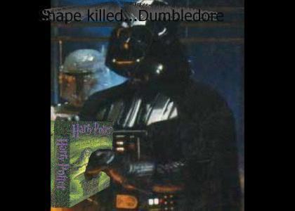 Vader reads Harry Potter (spoiler)