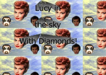 Lucy in the Sky With Diamonds!!