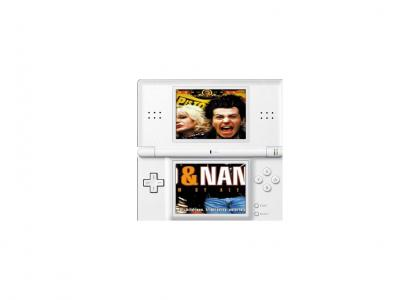 Sid & Nancy for the Nintendo DS!