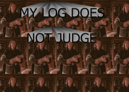 My Log Does Not Judge