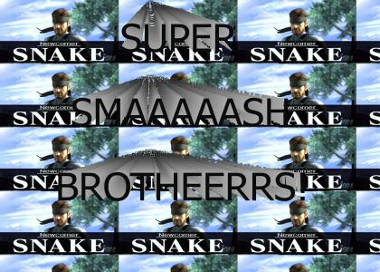 Snake's on a SUPER SMASH BROTHERS!? *updated Sound Quality*