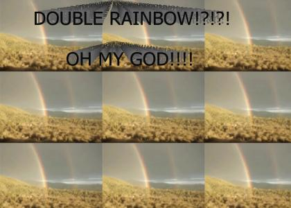 Double Rainbow?! What does this mean?!