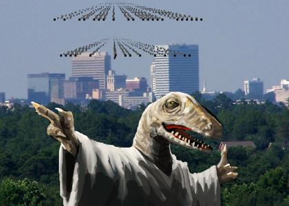 Raptor Jesus ends humanity