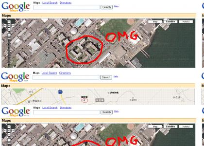 Google Maps is racist...