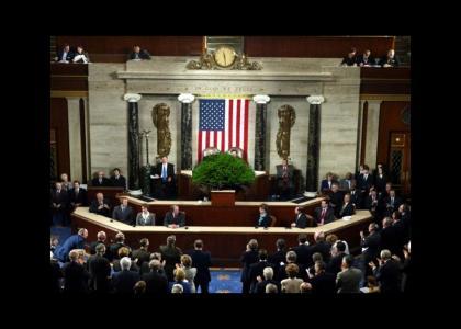 Bush Addresses Congress