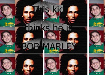 kid thinks he is bob marley