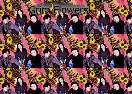Black Metal Flowers