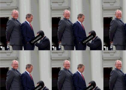 Bush + Gayfuel = OH NOESZ!!1