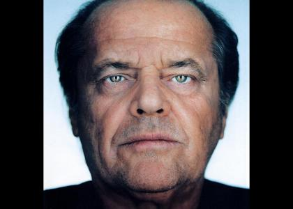 Jack Nicholson Stares Into Your Soul