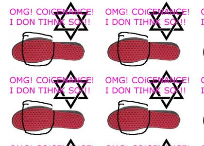 Star of David Shoe