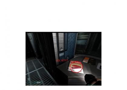 Doom 3 Marine Finds Miltons Stapler