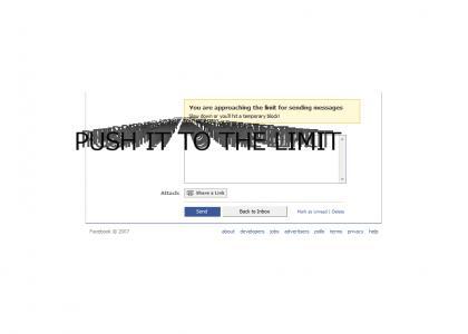 Facebook not guaranteed