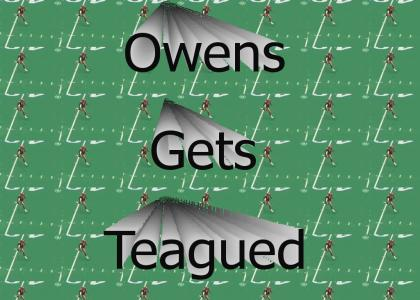 Terrell Owens Gets Leveled
