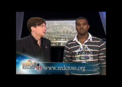 Kanye interrupts himself