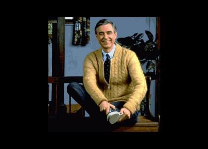 Mr Rogers Is Soapy