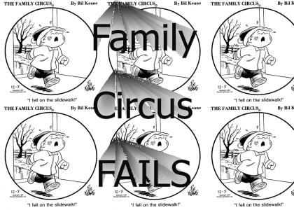 Family Circus Is Not Funny