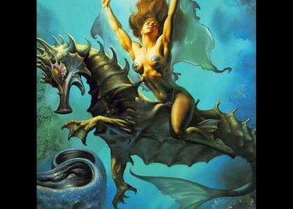 sexy sea horse queen