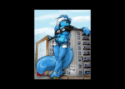 (Furry)Looking hot!