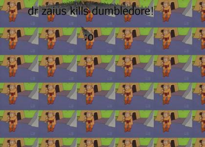 Dr Zaius killed dumbledore! (let sound load)