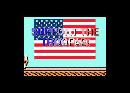 Support the Troopas