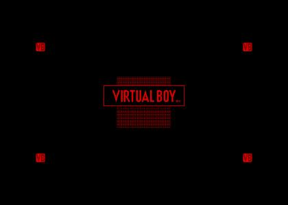 Virtual Boy logo and jingle