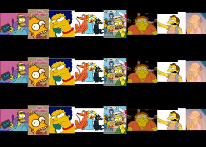 One Dimensional Character Catch Phrases (The Simpsons +  Long load)