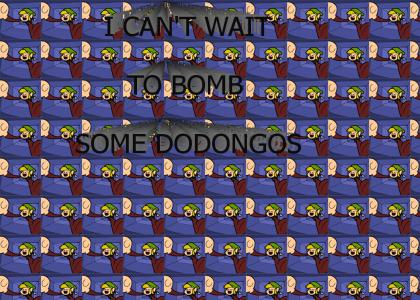 I can't wait to bomb some Dodongos!