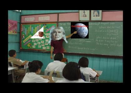 KHANTMND: Khan teaches Astronomy class