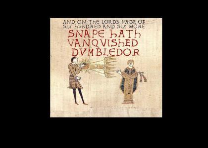Medieval snape kills dumbledor