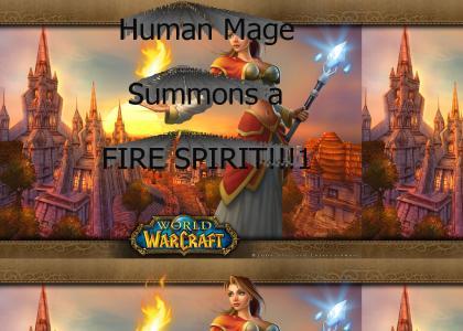 Mage Fire Spirt