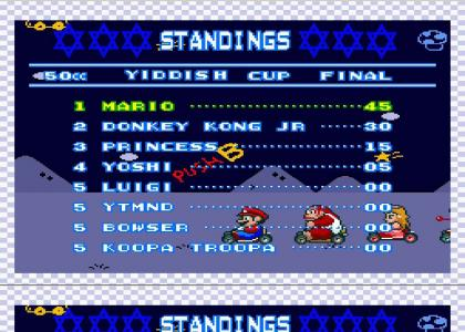 MARIO BEAT YTMND IN THE YIDDISH CUP!? (update)
