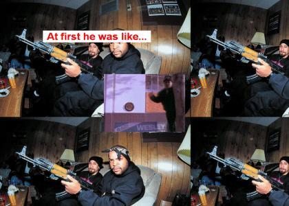 Ice Cube, you so crazy man