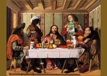 the next-to-last supper