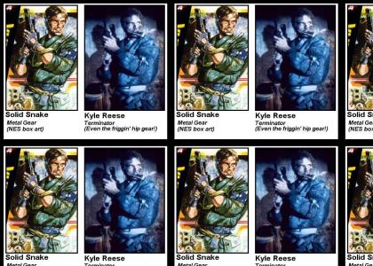 Solid Snake IS Kyle Reese