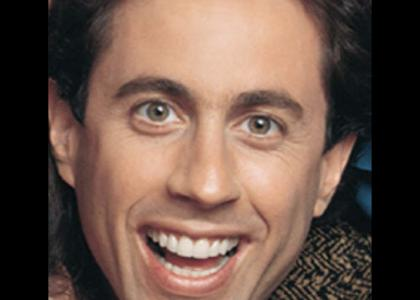 Jerry Seinfeld stares into your soul