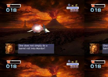 one does not simply do a barrel roll