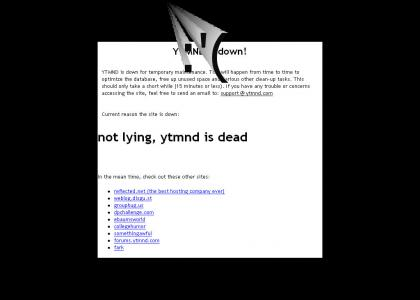 not lying, ytmnd is dead