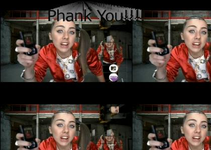 Lady Sovereign Thanks You
