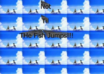Not Til The Fish Jumps - Best DBZ line