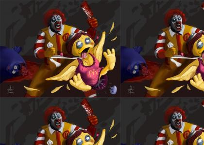 Ronald's Gone off the Deep End...